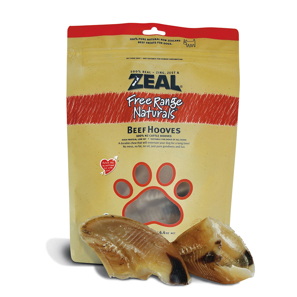 Zeal Beef Hooves Naturally For Pets
